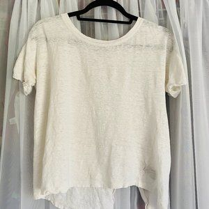 Sanctuary White T-Shirt Top